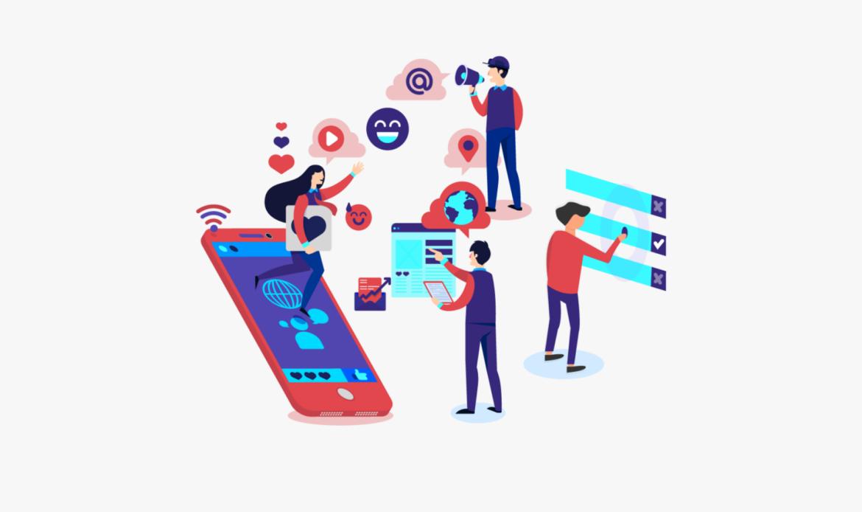 Redes sociales Clientes Marina Digital